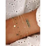 Εικόνα του5Pcs Bohemian Beads Chain Bracelet Set
