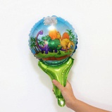 ObrázekDinosaur Foil Balloon Birthday Party Decoration Kids Toy Inflate Helium Ballon Animal Zoo Theme Decorate Ball