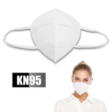 ObrázekDisposable KN95 Mouth Mask Unisex Earloops Dust proof Mouth Mask Common Non medical Mask