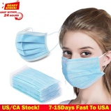 ObrázekDHL TNT 50pcs Face Disposable mouth mask 3 Layer Dust Windproof General Non Medical Mask Factory