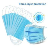 ObrázekDHL 50PCS Disposable Masks Dust proof Meltblown Filter Layer Free shipping