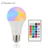 ObrázekDINGDIAN LED Light E27 Bulb 10W RGB White 16 Colors
