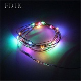 ObrázekDINGDIAN LED String Light Holiday Copper Wire Fariy Light USB/Battery Decoration 2M 5M 10M Wedding Christmas Light Party Lights