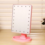 ObrázekDesktop Mirror 22 LED Lamp 360 Rotating Desktop Makeup Mirror Touch Control