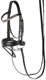 Image ofHarry's Horse Allegro bridle (Tailored horse: full)
