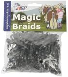 Imagen deBandas de goma Harry's Horse Magic Braids (Color: blanco)