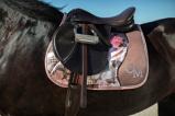 Bilde avCavallino Marino soft powder flower saddle pad