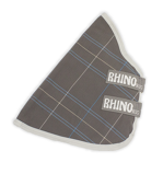 ObrázekRhino Original Charcoal Grey & White Check with grey Hals