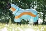 ObrázekAmigo Fly Rug Vamoose Evolution Aqua/Orange 115/168