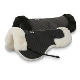 Abbildung vonChetaime Half Pad Merino Wool Black Medium