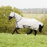 Image ofBucas Freedom Fly Sheet Full Neck Silver 120/160