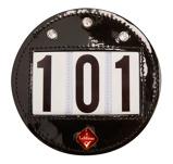 Abbildung vonLeMieux Zaumzeug Startnummernhalterung Diamant Schwarz