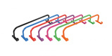 Image ofShires Rug Rack with Hooks Black