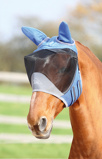 ObrázekShires Fly Mask with Ears Deluxe Royal Full