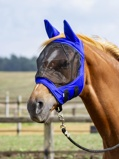 Abbildung vonBusse Fly Mask Fly Buckler Gap Royal Blue