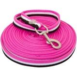 Afbeelding vanIR Longeerlijn zacht cushion web Neon Pink 1maat