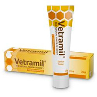 Thumbnail of NML Health Vetramil Honingzalf tube 30 gram