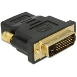 Afbeelding vanHDMI female naar DVI D male verguld dual link professioneel