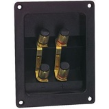 Afbeelding vanVisaton dubbele luidspreker terminal voor bi wiring of amping