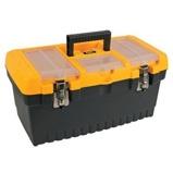 Afbeelding vanPerel gereedschapskoffer met metalen sloten 486 x 267 242 mm