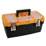 Afbeelding vanPerel gereedschapskoffer met metalen sloten 413 x 212 186 mm