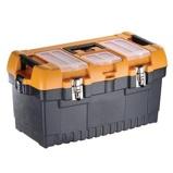Afbeelding vanPerel gereedschapskoffer met metalen sloten 564 x 310 mm