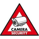 Afbeelding vanNedis STCKWC105 Waarschuwingssticker Pictogram Camerabeveiliging Set Van 5 Stuks