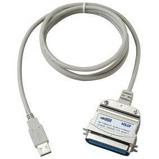 Afbeelding vanUSB 2.0 Kabel A Male Centronics 1.8 meter Grijs