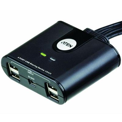 Afbeelding van 4 poorts USB 2.0 switch voor randapparatuur Aten