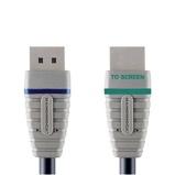 Afbeelding vanBandridge displayport naar hoge snelheids hdmi® kabel 2 meter