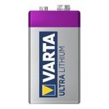 Afbeelding vanBatterij Varta Ultra lithium 9Volt Staaf En Blokbatterijen