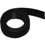Afbeelding vanHpx zip fix zelfklevende klittenband haak lus 20 mm x 2 1 meter, zwart