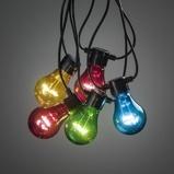 Afbeelding vanKonstmide CHRISTMAS lichtketting Biergarten 10 kleurrijke LED lampen, kunststof, 0.48 W, energie efficiëntie: A, L: 450 cm