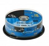 Afbeelding vanIntenso DVDR4,7GB 16X DVD+R Spindel 25 Stuks