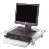 Afbeelding vanFellowes Werkstation Office Suites riser klein zwart/grijs Monitorstandaards