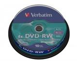 Afbeelding vanVerbatim DVDVER00072B 10x Dvd rw 4.7 Gb