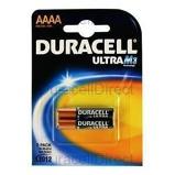 Afbeelding vanBatterij Duracell 2xAAAA Ultra alkaline Staaf En Blokbatterijen