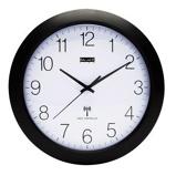Afbeelding vanBalance Time Equilibrium wandklok (Kleur: zwart)