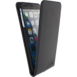 Afbeelding vanApple iPhone 6 Plus 6s Hoesje Mobilize Zwart Flipcase Premium Magnet Flip