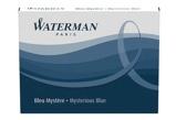 Afbeelding vanInktpatroon Waterman nr23 lang blauw/zwart Inktpatronen Voor Vulpennen