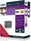 Afbeelding vanMarmitek HDMI splitter 4K UHD support 1 input/2 output