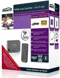 Afbeelding vanMarmitek HDMI switcher 3:1 Ultra HD Connect 310 UHD