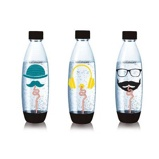 Afbeelding vanSoda Stream Tri Pack Hipster FUSE Bottles 1L flessen Sodastream