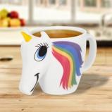 Afbeelding vanThumbsUp! Colour Changing Unicorn Eenhoorn Mok 0,3 L Multicolor/Wit