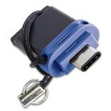 Afbeelding vanVerbatim Dual USB 3.0 Stick 64GB Zwart/Blauw