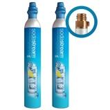 Afbeelding vanSodaStream CO2 cilinder Ruilcilinder (2 pack)