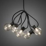 Afbeelding vanKonstsmide LED outdoor battery partylights incl. timer (10 lampjes) (Kleur verlichting: warm wit)