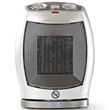 Afbeelding vanNedis HTFA11CWT Keramische Ventilatorkachel 750 & 1500 W Grijs