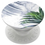 Afbeelding vanRichmond & Finch X PopSockets Expanding Stand/Grip White Marble Tropics