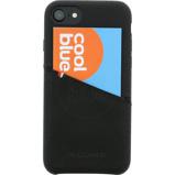 Afbeelding vanDecoded Leather Back Cover Apple iPhone 6/6s/7/8 Zwart telefoonhoesje